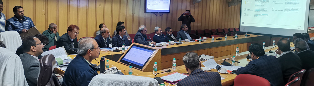 Presentation by firms including IIT and IIMs for introduction of new concepts in UPPWD- 23/01/2020 and 25/01/2020